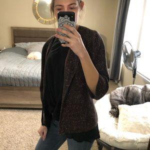 Lafayette 148 Wool Tweed Blazer
